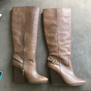 Tall Coach leather boots